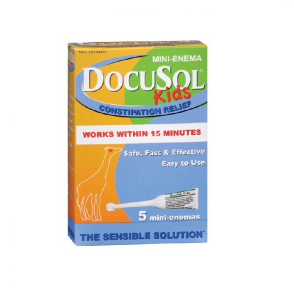 Docusol Mini Enema Kids